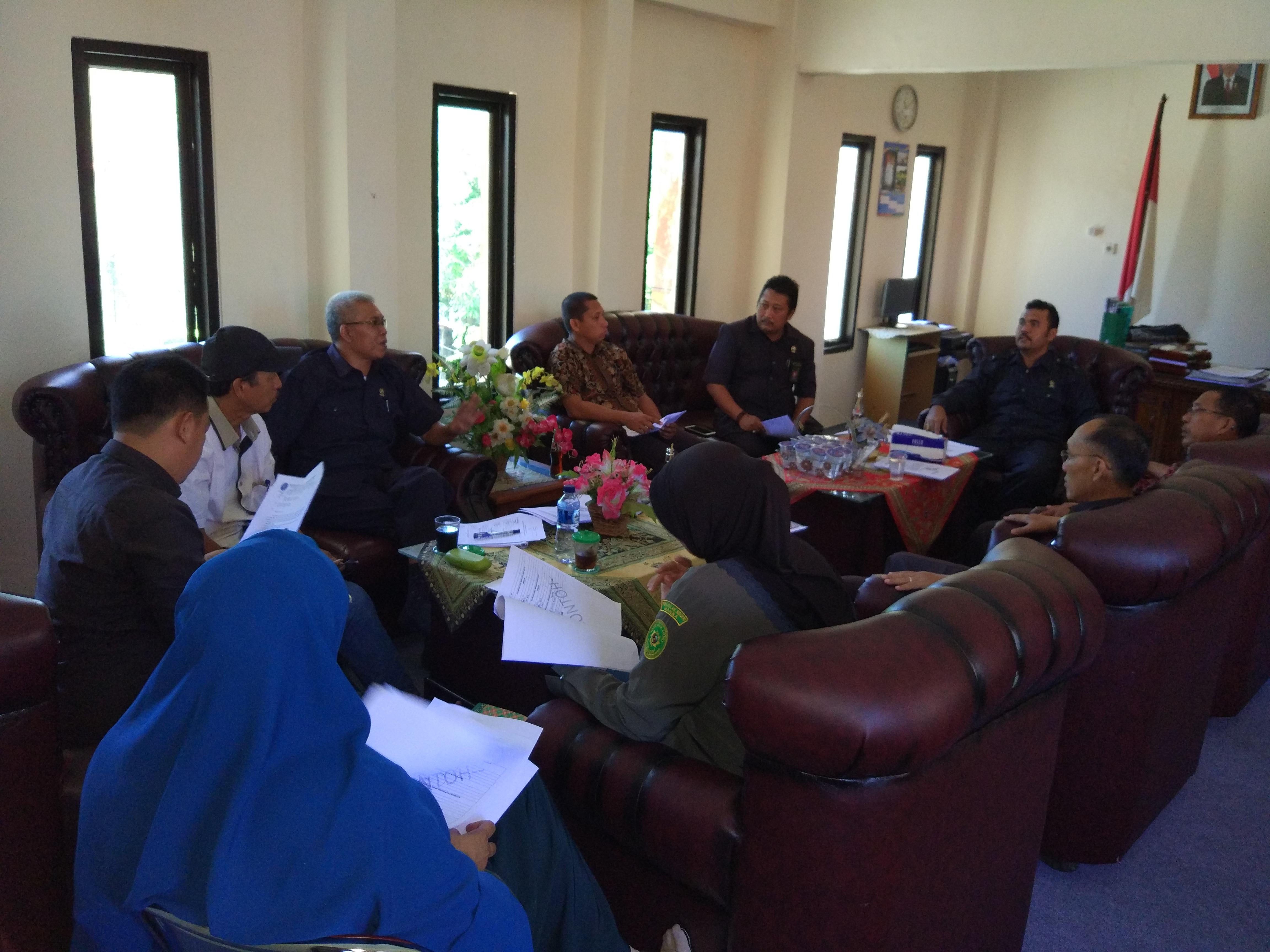 Rapat pimpinan pembahasan manual mutu dan persiapan akreditasi