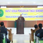 Rapat Kerja Pengadilan Tinggi Bengkulu bersama Pengadilan Negeri sewilayah hukum PT Bengkulu