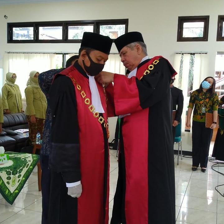 Pelantikan Ketua Pengadilan Negeri Manna serta Sertijab Ketua Pengadilan Negeri Manna
