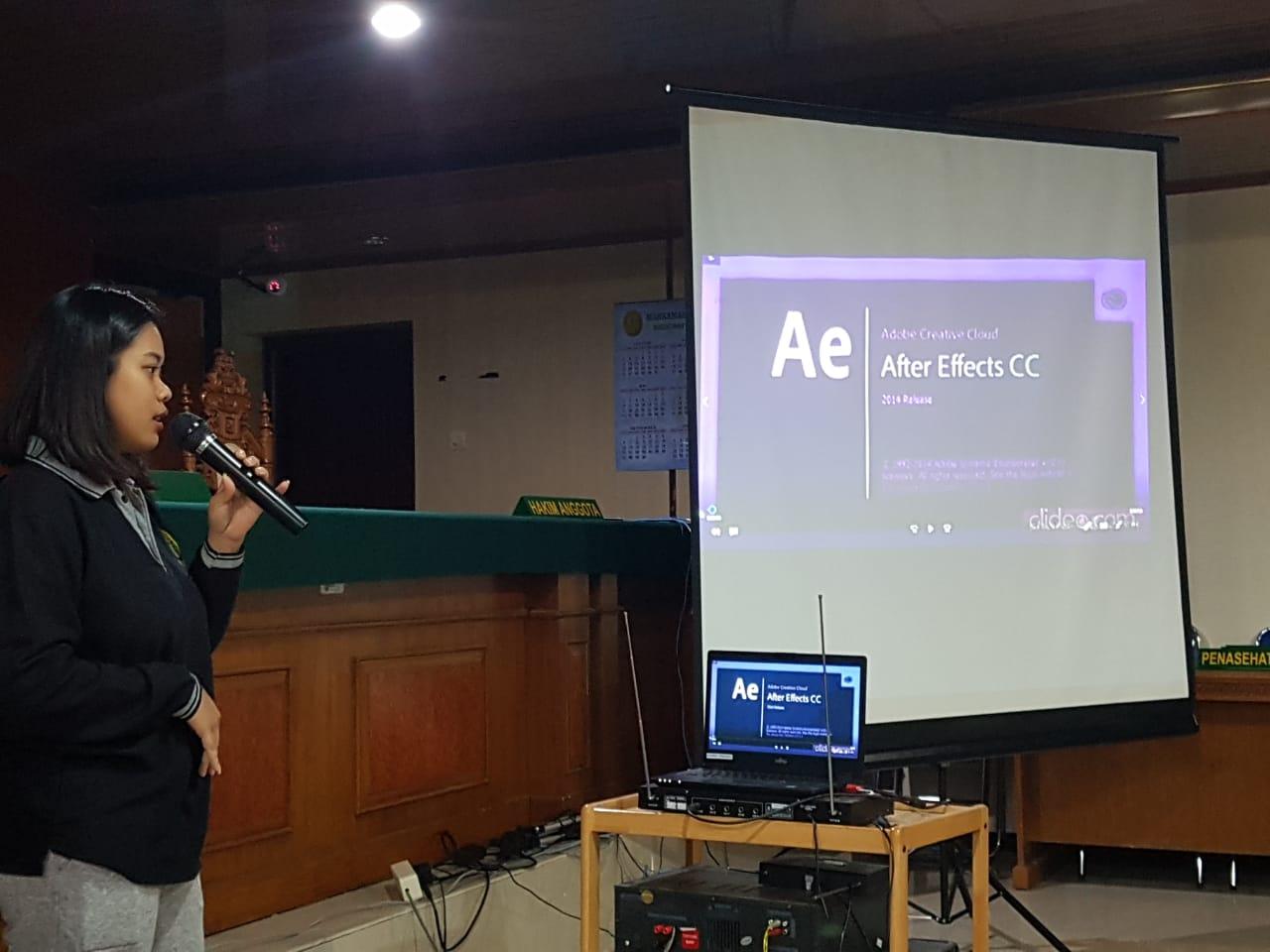 Bimbingan Non Teknis / Preparation For TOEFL dan Pelatihan Basic Motion With Adobe After Effects