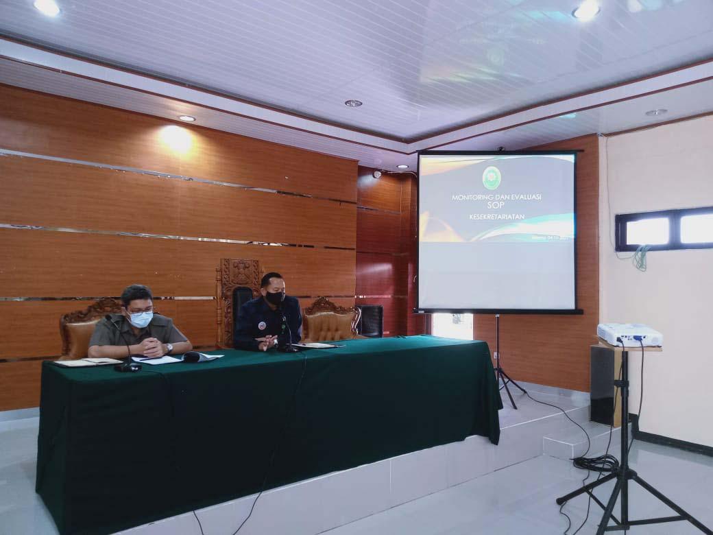 Sosialisasi SAKIP dan Monitoring dan Evaluasi SOP